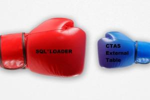 sqlloader ou CTAS External Table